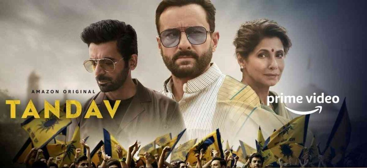 Tandav   Web Series Review   The Literature Times
