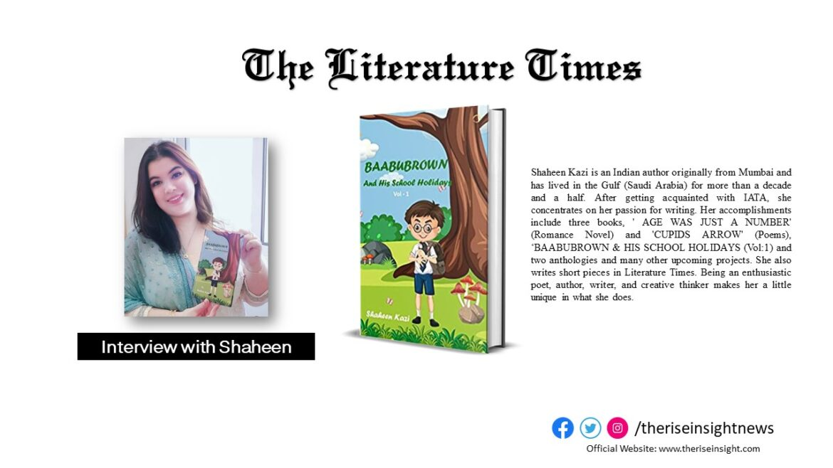 Author Shaheen Kazi Talks About Her Latest Book 'Baabubrown And His School Holidays'