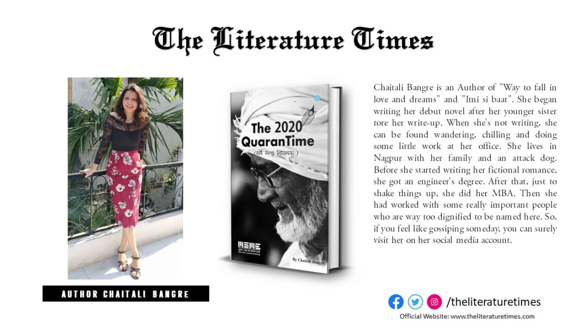 Chaitali Bangre Talks About Her Literary Journey in Latest a Interview with TLT